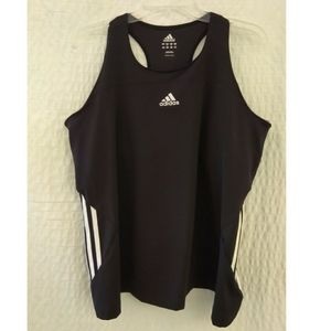 Adidas 3 Stripes Tech Workout Tank